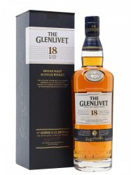 The Glenlivet 18 Years Single Malt 0,7l PDD (43%)
