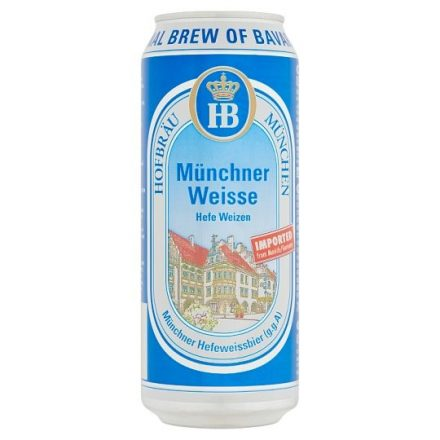 HB Münchner Weisse 0,5l DOB (5,1%)