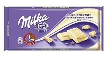 Milka Fehércsokoládé 100g