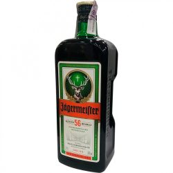Jägermeister 1,75l (35%)+ 2 pohár