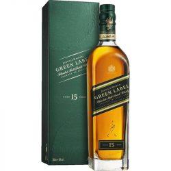 Johnnie Walker Green 15 years 0,7l (43%) + 2 pohár