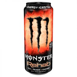 Monster Rehab Tea+Peach 0,5l DOB