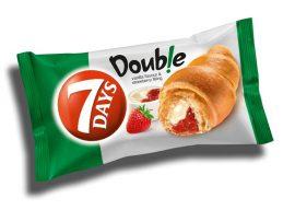 7 Days Croissant Double Eper-Vanília 80g