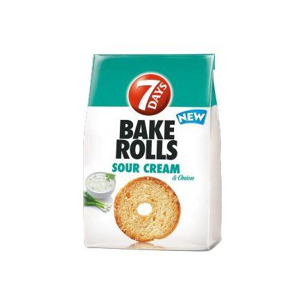 7 days Bake Rolls Hagymás Tejfölös 80g