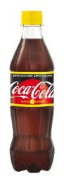Coca-Cola Lemon Zero 0,5 l PET