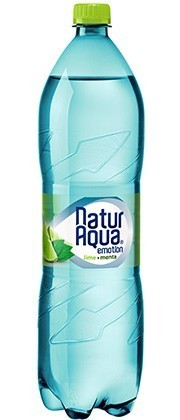 Naturaqua Emotion lime-menta 1,5l