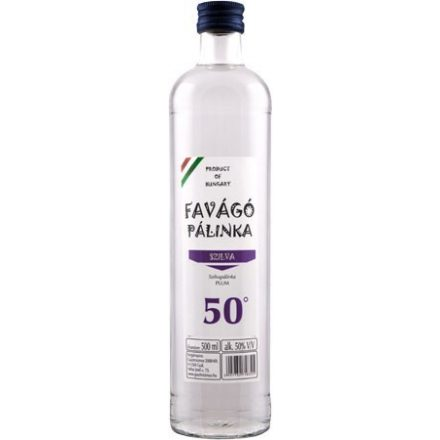Favágó Szilva Pálinka 0,5l (50%)