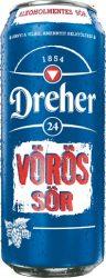 D24 Alkoholmentes Vörös Sör 0,5l DOB (0,5%)