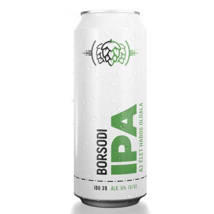 Borsodi IPA 0,5l DOB