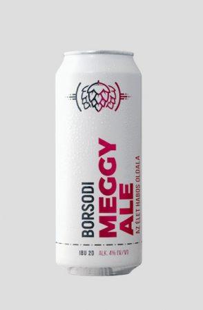 Borsodi Meggy Ale (4%) 0,5l DOB