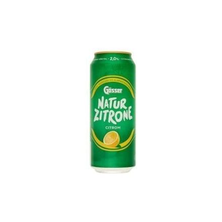 Gösser Natur Zitrone 0,5l DOB (2%)