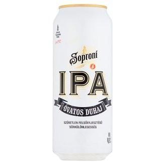 Soproni IPA Óvatos Duhaj 0,5l DOB (4,8%)