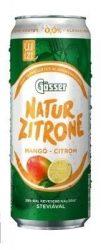 Gösser Natur zitrone Mangó-Citrom 0,5l DOB (0%)