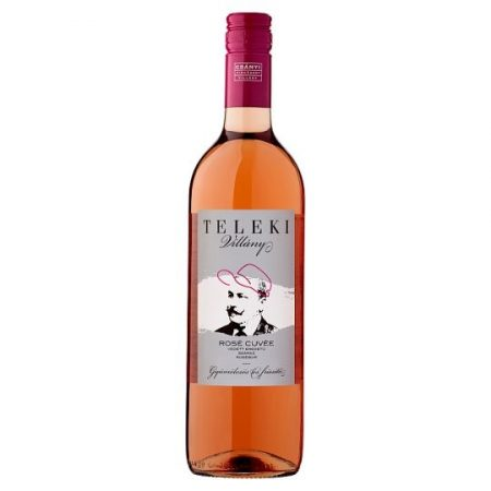 Teleki Villányi Rosé Cuvée 2019  0,75l (12%)