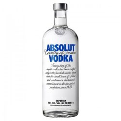 Absolut Blue Vodka 1l (40%)