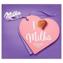 I love Milka Alpesi Tejkrémes 120g