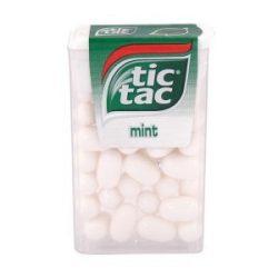 Tic Tac 100 Mint Mentolos Ízű Cukordrazsé 18g