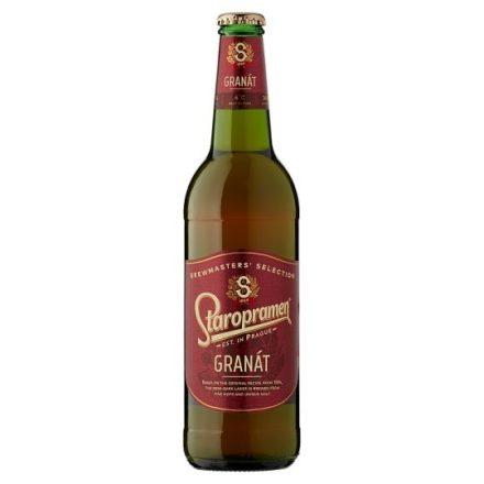 Staropramen Granat Félbarna Sör 0,5 PAL (4,8%)